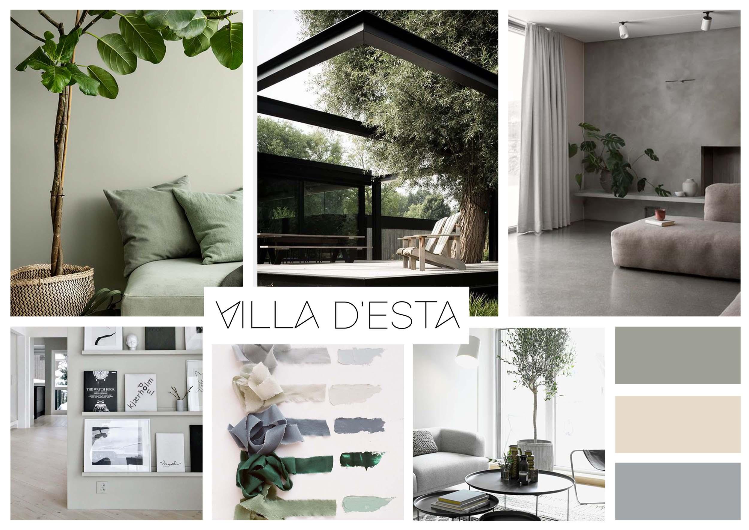 Interieurontwerp villa in jaren 30 stijl villa desta